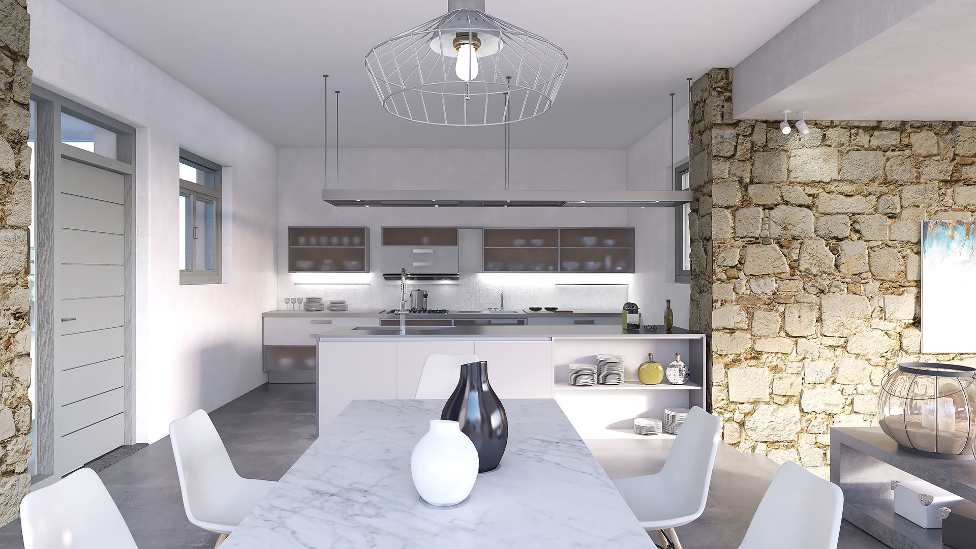 Santa Maria Villa B Interior 2, Paros - 1FORTY1 Estate Developers